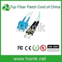 SC ST connector OM4 fiber cable duplex optical fiber patch cord