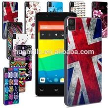 Hot Sell ! Prints Hardshell Plastic Back Case Cover Mobile Phone Bag For BQ Aquaris E4.5+Stylus Free Shipping Cost