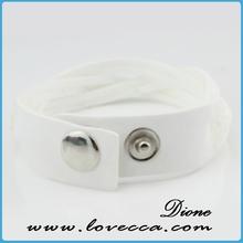 Fashion Colorful rhinestone bracelet with evil eye
