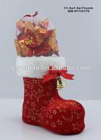 plastic candy santa claus boots