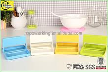 plastic kitchen shelf