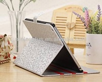 G-meles factory oem/odm customize pu leather smart wake/sleep function stand cover for i pad air 2 case