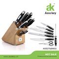 /fda lfgb aprovação açoinoxidável cozinha faca faca bloco conjunto
