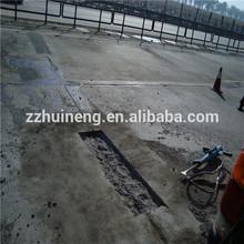 surface-applied liquid that hardens road and bridge concrete repair materials