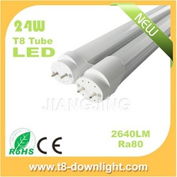 High power 110lm/w cool white 1500MM 24w led tube driver isolated