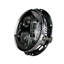 Emark 7inch round high/low beam headlight for Jeep Wrangler CJ TJ JK Harley Hummer toyota Landrover