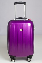 Fashion Purple Color Trolley suitcase/Girls Lovely Travel Luggage bags