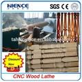 Torneado de madera del torno cnc1503 mejor! Bate de béisbol barato torno de madera