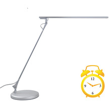 dimmable high quality decoration modern satin nickel 1light table lamp