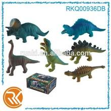 7-10 inch animal set dinosaur model toy, dinosaur king toys