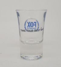 30ml high quality thick custom shot glass ware