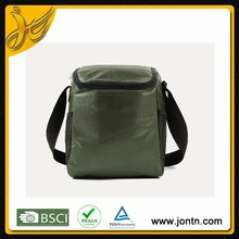 Cool army green shoulder insulated cooler bag