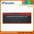 China 2015 compras on-line com fio usb multimídia teclado de computador