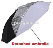 White/Black Umbrella Soft Box Photography Light Studio Umbrellas Softbox Reflector Flash