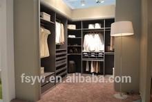 Placa da melamina móveis de madeira móveis foshan mercado cama guarda-roupa