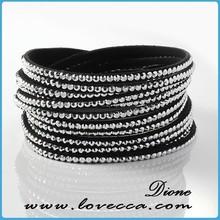 Vintage Large Rhinestione rhinestone bracelet snake