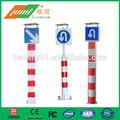 carretera de advertencia de seguridad solar de advertencia de tráfico poste de señalización