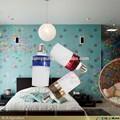 Automático luz de la noche con bluetooth inalámbrico con luz altavoz