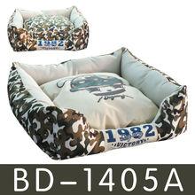 wholesale customized Cotton fleece luxury pet bed