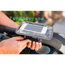 Eco-priendly neoprene pvc stroller mommy car seat phone mobile holder case bag