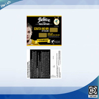 lottery scratch card printing