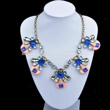 Wholesale acrylic latest model fashion necklace