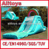 Ali 2015 cheap inflatable water slides for sale with CE
