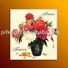 inkjet canvas, flower image, home decoration