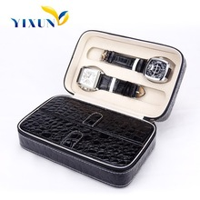 fashion leather watch case/blank watch case