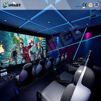 Hydraulic/Electric System 5D Cinema 5D Simulator 5D Motion Ride 5D
