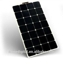 80W Flexible solar photovoltaic modules/solar cells