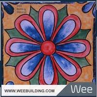 HandMade Glazed Tile For Mediterranean Decor