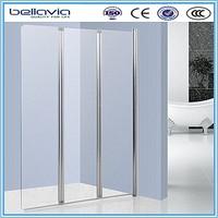 Three folding door, 5mm/6mm shower screen
