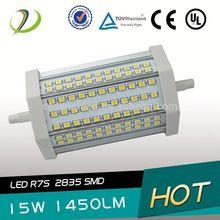 J118 R7s LED Bulb SMD2835 270degree double ended high power 15w 30w r7s light bulb