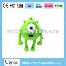 gift usb flash memory 8gb with customizd logo,pvc usb drive ,beautiful colorful Usb flash memory