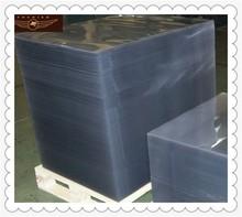 Shanghai Fochier rigid plastic sheet price of corrugated pvc roof sheet