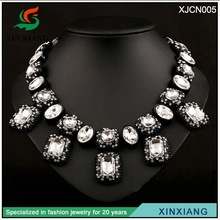 2014 popular selling design colored crystal stone jewelry