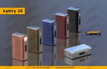 Kamry e-cig nemesis mod stand mechanical mod kamry 20 box mod, 20W mini DNA 30