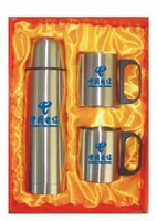 Factory provide 500ml stainless steel drinking bottle set/stainless steel coffee mug gift sets