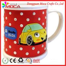 Supply of 2014 new and unique cartoon animal shape PVC Mug