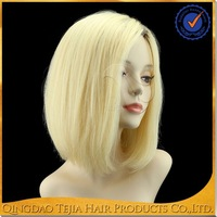 Ideal New Design human hair wig 27/ 613 hot sale for fashionable girls