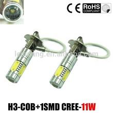 high power 12V 11w H1 880 881 h3 led car lighting
