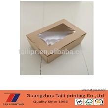 window paper sushi box, sushi packaging box,TLP14091903