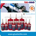 venda quente 277 linha parafuso locker cola inferior do adesivo de enchimento de óleo lubrificante para peças de máquinas
