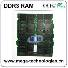 Best Packaging ram memory 2GB 4GB 8GB ddr3 laptop/Notebook