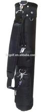 embroidered logo onto nylon material gun golf bag sunny golf bag
