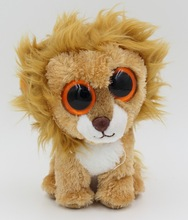 Wholesale Toy From China 15cm Cute Lion Stuffed Toys Plush Toys with Big Eye