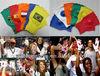 Noisemaker Cheerleading Football Fans Cheering Hand Clapper Gloves