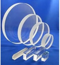 High transmission of JGS1 clear fused silica glass