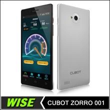Big Screen!! Cubot ZORRO 001 Smart phone 1GB+8GB Quad Core Dual SIM Dual Standby 8.0MP Camera 5inch 1280*720 Android 4.4